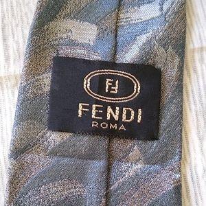 Fendi Men's Tie 100% Silk